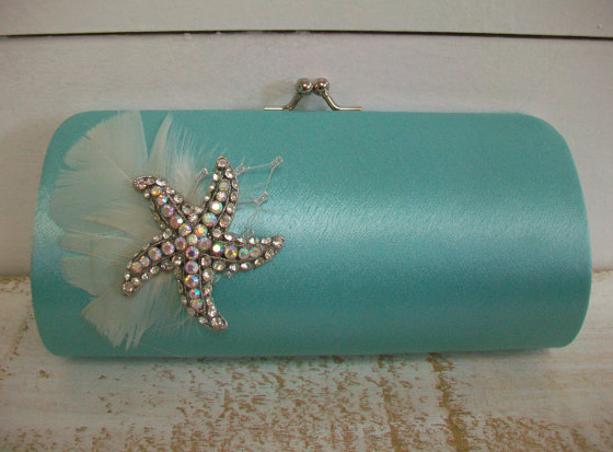 wedding_clutch_starfish_destination_wedding_by_parisxox_on_etsy