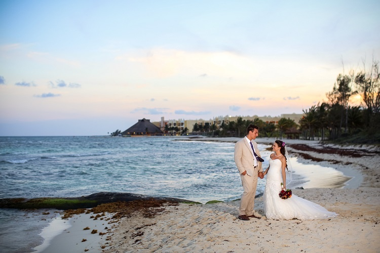 Real Wedding: Jessica & Ryan in Riviera Maya, Mexico   Destination ...