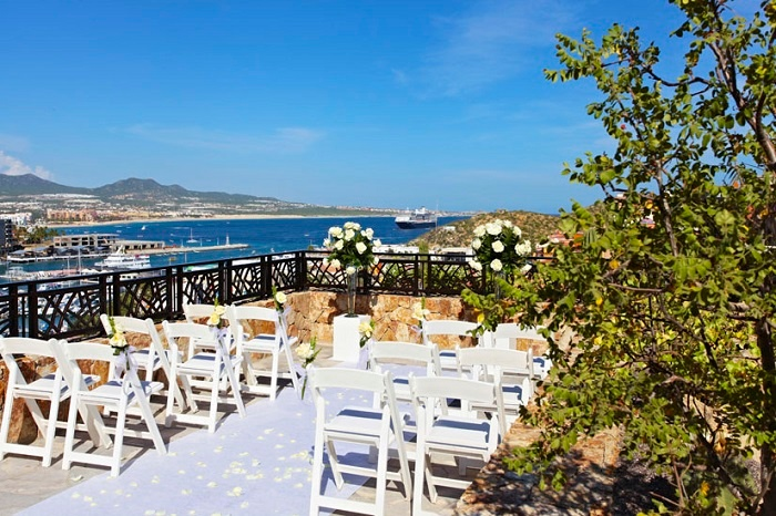 6 destination wedding venues with a view in mexico for Mexico wedding packages