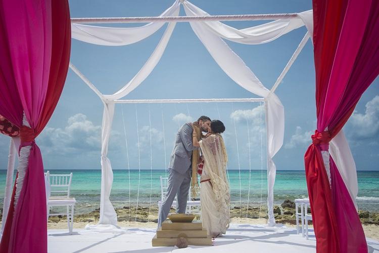 Barceló Maya Beach Resort South Asian Wedding
