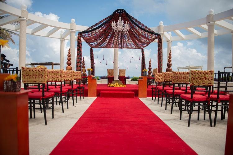 Sandos Cancun Luxury Resort South Asian Wedding