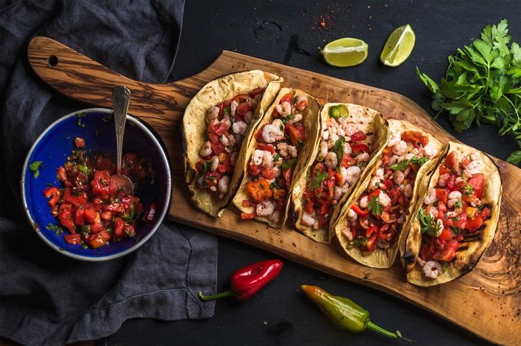 Mexico wedding cuisine