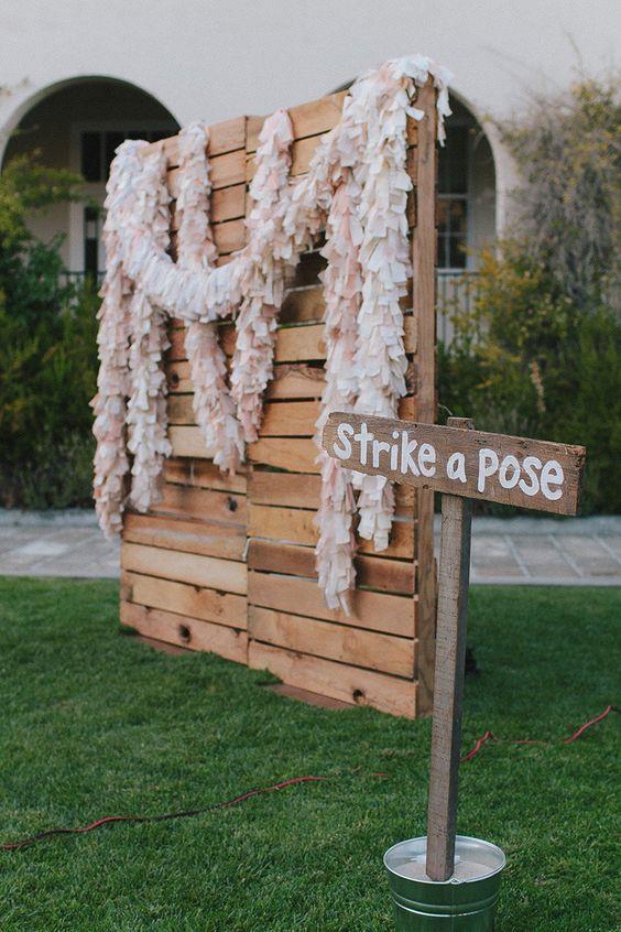 Destination Wedding DIY Photo Booths