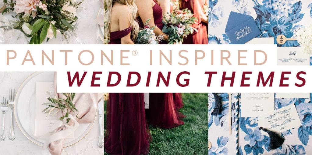 Well The Fall 2017 Pantone Fashion Color Report Is Out And Were Swooning Over Bridal Inspiration That Came With It Discover What Pops Of