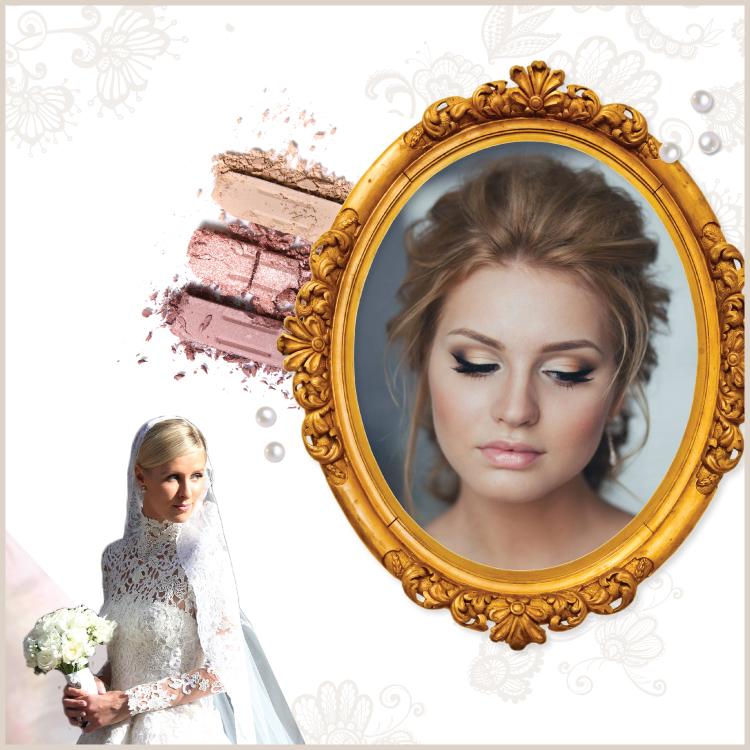 Destination wedding hair and makeup | Classic wedding look