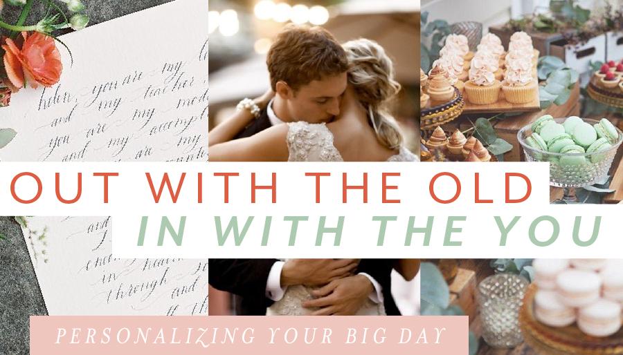 destination wedding personalizing
