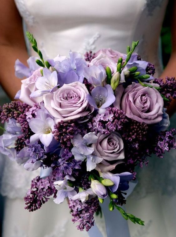ultra violet wedding ideas