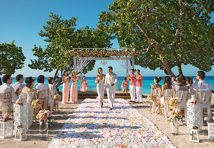 Weddings at Dreams Dominicus La Romana