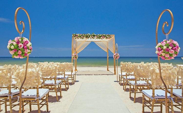 Beach Wedding in Riviera Maya