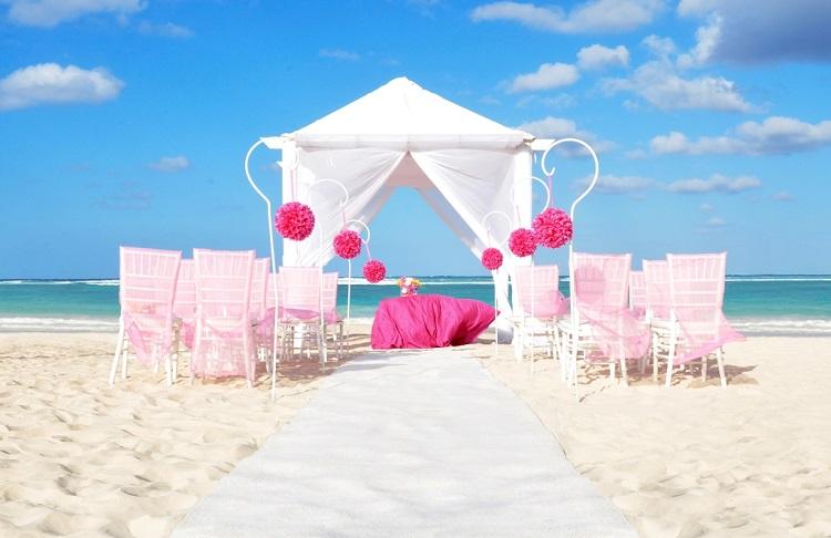 Weddings at Ocean Blue & Sand