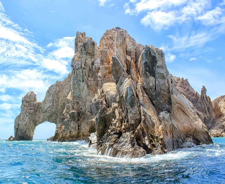 Cabo San Lucas Arch honeymoon excursions
