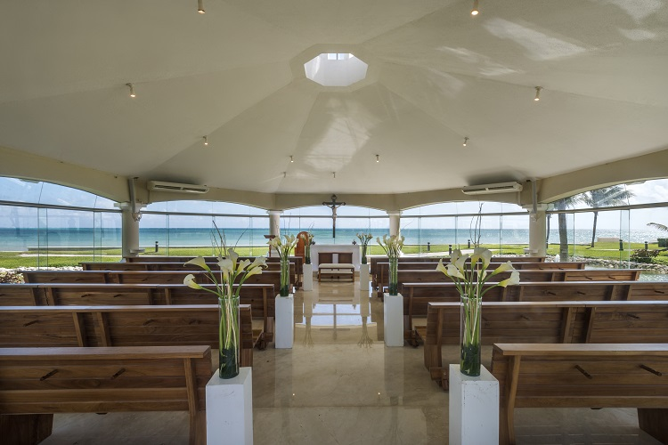 all inclusive resorts with wedding chapels