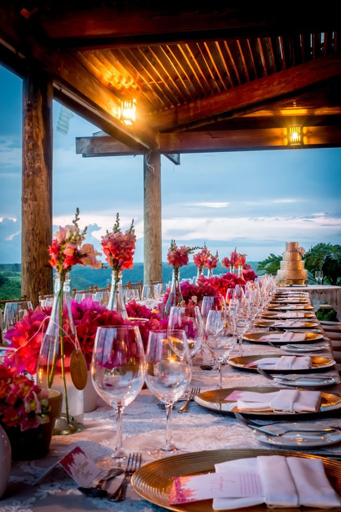 wedding decor at Casa de Campo