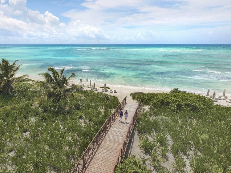 beach at unico resort riviera maya
