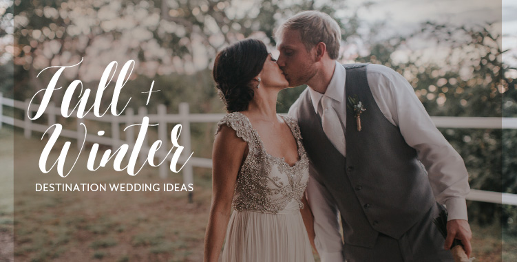 ideas for winter destination wedding