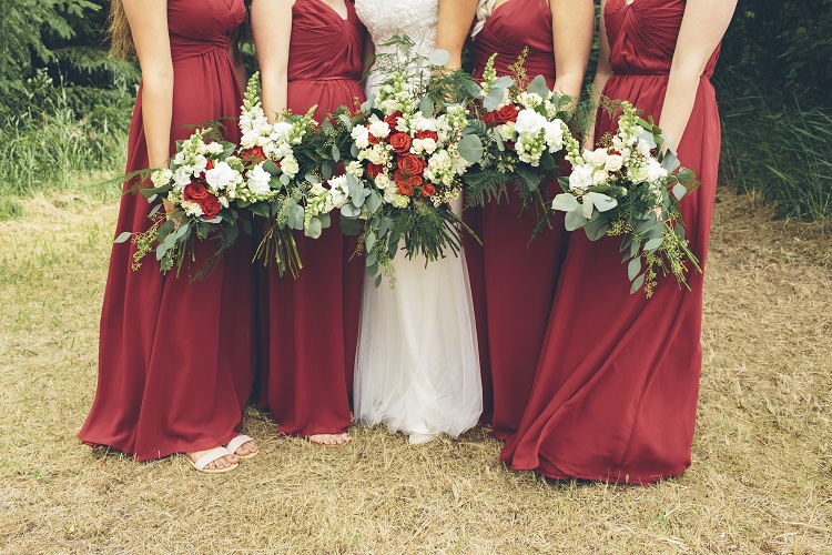 bridesmaids ideas for fall destination wedding