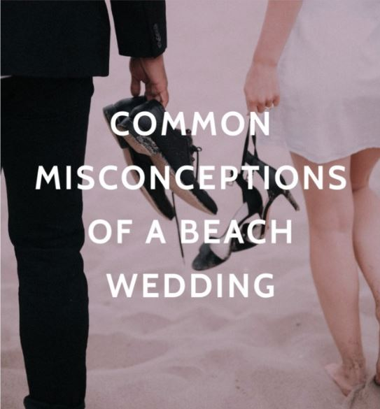 beach wedding considerations