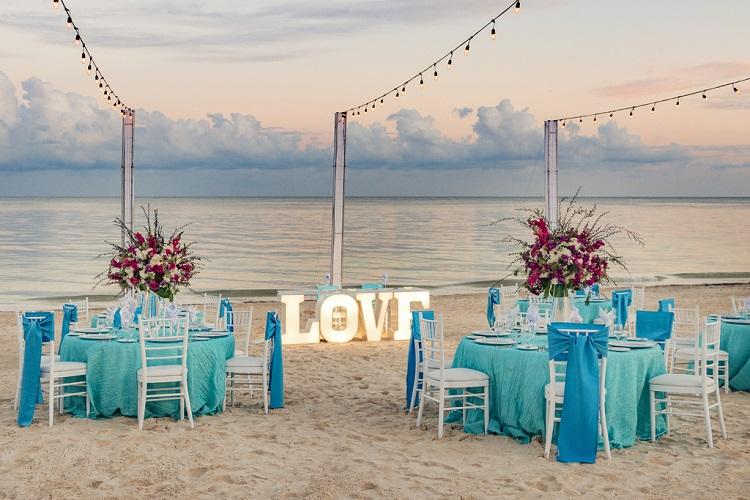 ocean coral & turquesa weddings