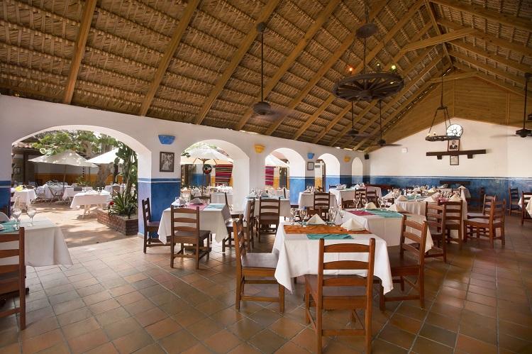 Viva Mexico restaurant at Viva Wyndham Dominicus Beach in the Dominican Republic