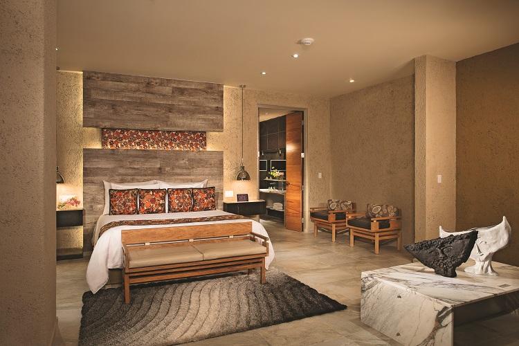 Impression Club suite at Zoetry Paraiso de la Bonita in Mexico