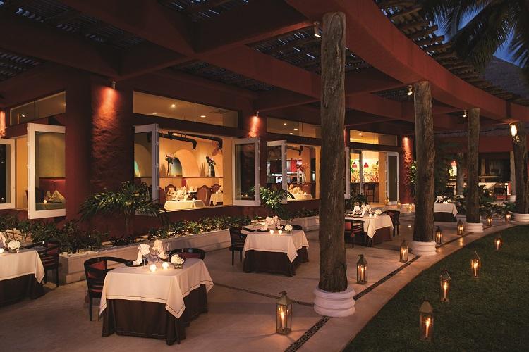 La Canoa restaurant at Zoetry Paraiso de la Bonita in Mexico