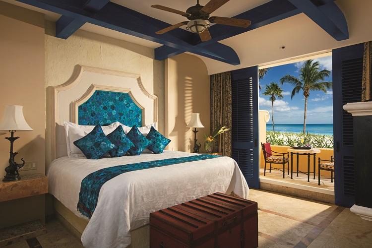Ocean front suite at Zoetry Paraiso de la Bonita in Mexico