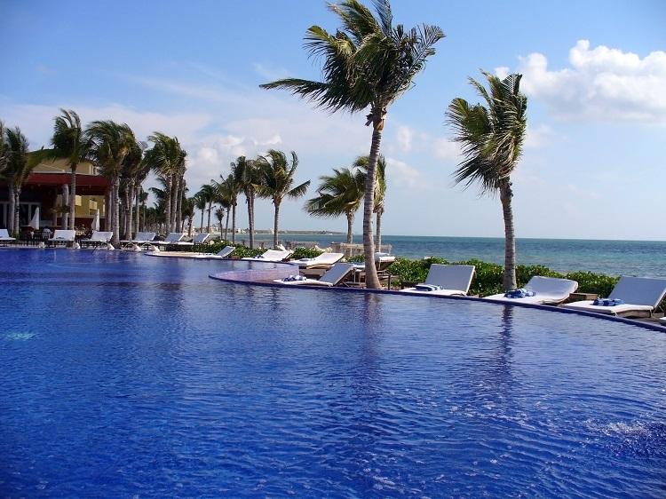 Pool at Zoetry Paraiso de la Bonita in Mexico
