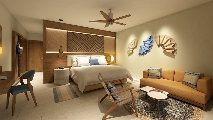 Junior suite at Haven Riviera Cancun in Mexico
