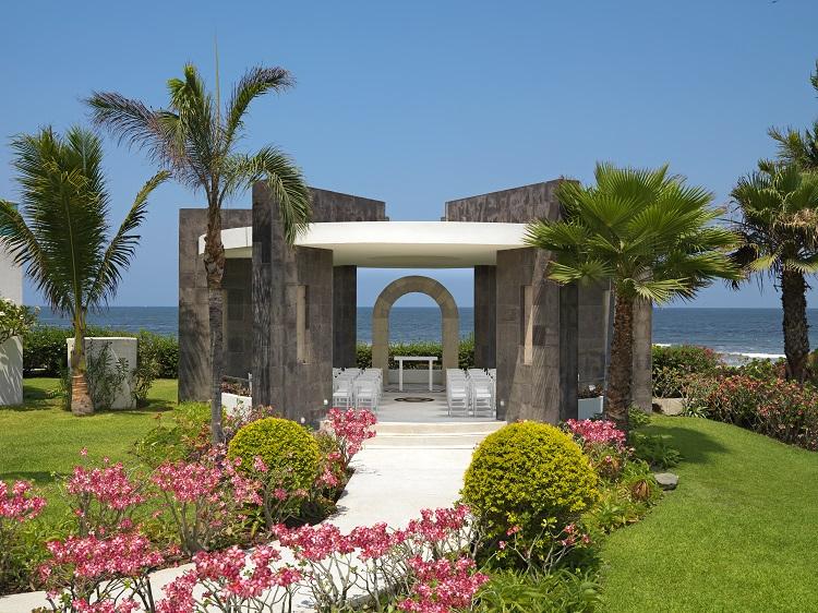 Gazebo wedding location at Hard Rock Hotel Vallarta in Mexico