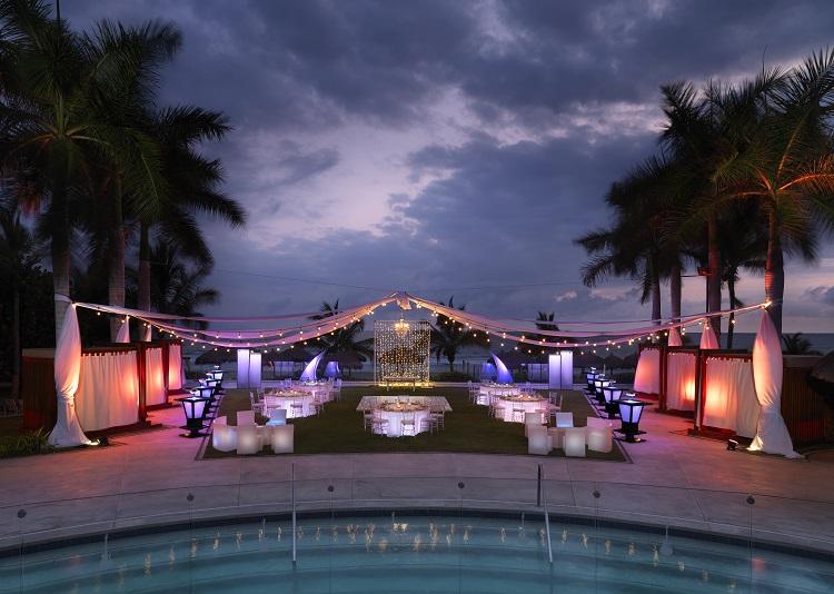 Wedding reception at Hard Rock Hotel Vallarta in Mexico