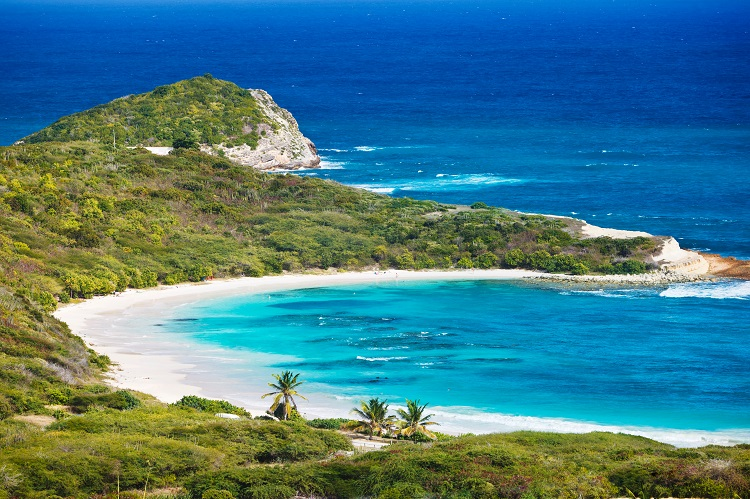 Antigua - top island wedding destinations