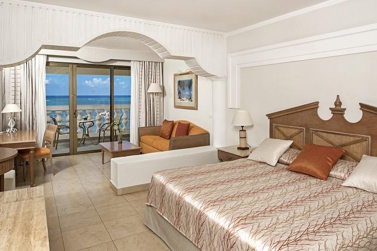 Junior suite at Iberostar Rose Hall Beach in Jamaica