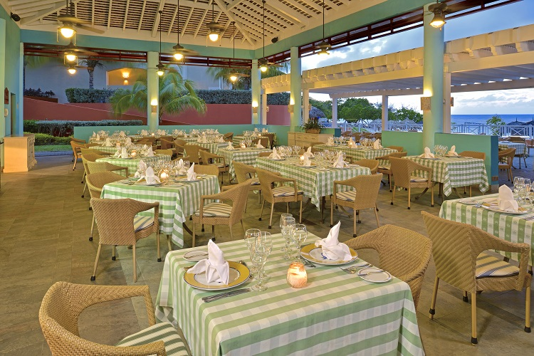Restaurant at Iberostar Rose Hall Beach in Jamaica