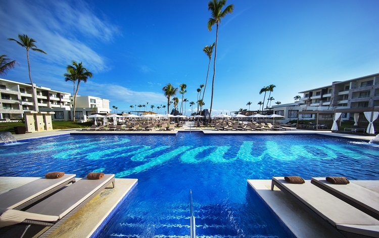 Pool view at Royalton Bavaro in the Dominican Republic