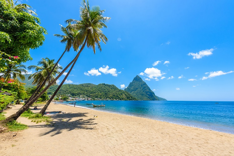 St Lucia - top island wedding destinations