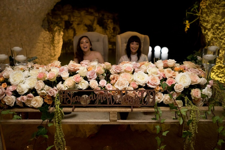 Destination Wedding Head Table
