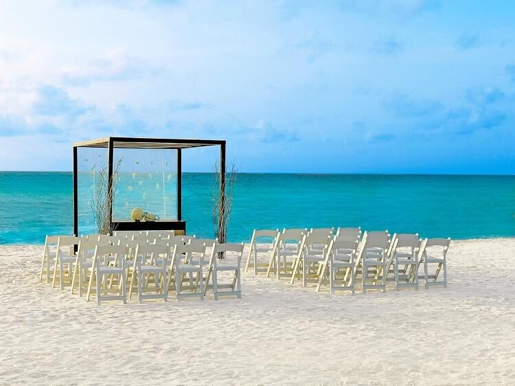 Sun Palace beach ceremony